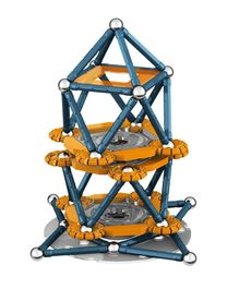 Geomag Mechanics Construction Set - 146 Pieces