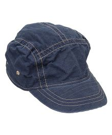 Little Wonder Trendy Elastic Cap - Navy Blue