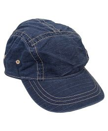 Little Wonder Smart Cap With Convenient Velcro Closure - Blue