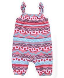 Beebay Singlet Printed Jumpsuit - Multi Color