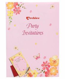 Archies invitation online india buy at firstcry archies party invitation cards pink bookmarktalkfo Image collections