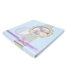 Archies Baby Record Book - Blue Purple