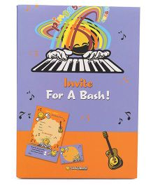 Archies Party Invitation Cards - Orange Blue