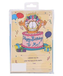 Archies Party Invitation Cards - Cream