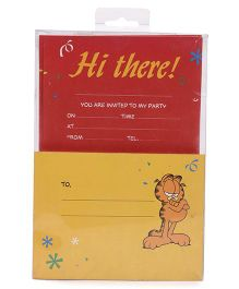 Archies Party Invitation Cards - Red Yellow