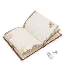 Archies Note Book - Brown