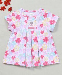 YiYi Garden Flower Print Dress - Multicolor
