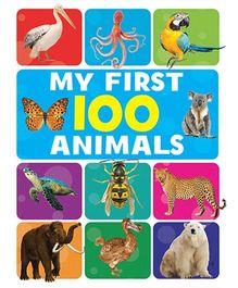 My First 100 Animals Book - English