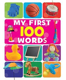 My First 100 Words Book - English