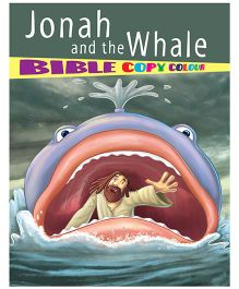 Jonah And The Whale Bible Copy Colour Book - English