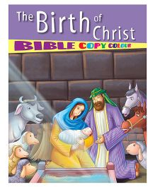 The Birth of Christ Bible Copy Colour - English