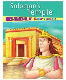 Solomon's Temple Bible Copy Colour Book - English