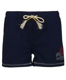 Bells and Whistles Shorts With Drawstring - Navy