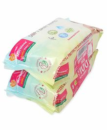 Morisons Baby Dreams Wipes - 80 Pieces