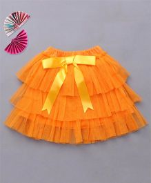 Ben Benny Tutu Skirt With Attached Bloomer - Orange