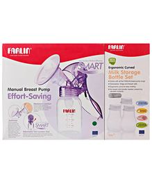 Farlin Effort Saving Manual Breast Pump