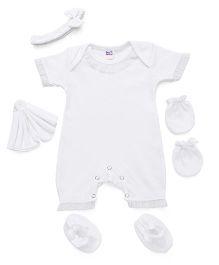 Ben Benny Clothing Set White - 5 Pieces