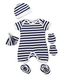 Ben Benny Clothing Set Stripes Black White - 5 Pieces
