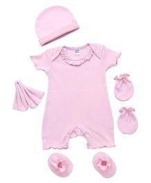 Ben Benny Clothing Set Pink - 5 Pieces
