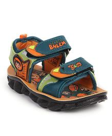 Chhota Bheem Sandals - Peacock Green