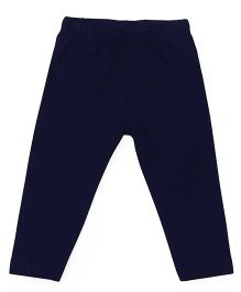 Babyhug Silicon Wash Leggings - Navy