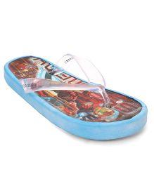 Iron Man Flip Flops - Blue