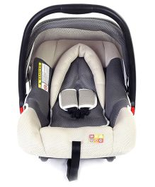 Mee Mee Car Seat Cum Carry Cot - Grey White