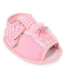 Hopsy Trendy Sandals For Girls - Pink