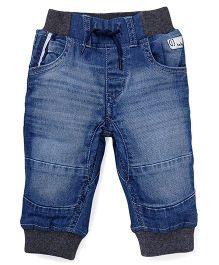 Gini & Jony Jeggings Wash Style Elasticated Jeans - Blue