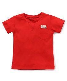 Gini & Jony Half Sleeves Tee - Red