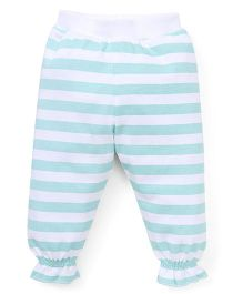 Gini & Jony Lounge Pant With Broad Stripe - Blue White