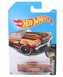 Hot Wheels Nightburnerz Die Cast Toy Car (Colour And Design May Vary)