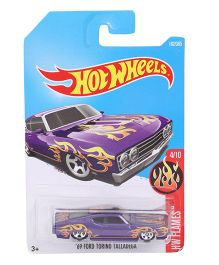 Hot Wheels H W Flames Die Cast Toy Car (Color & Design May Vary)