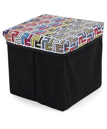 Ratnas Stool Cum Utility Box - Multicolor