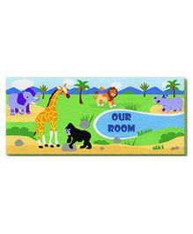 Safari Adventures - Name Plate