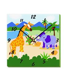 Safari Adventures - Wall Clock