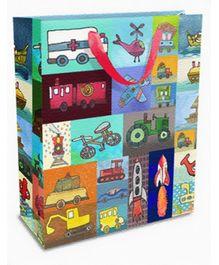 Mima Art - Transport Print Gift Bag