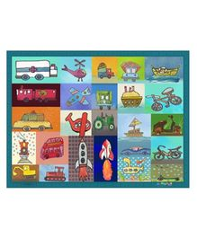Mima Art - Transport Theme Table Mats