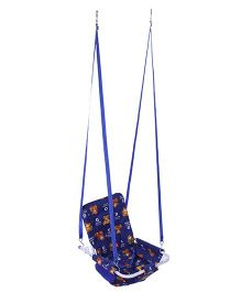 Mothertouch 2 In 1 Swing Bear Print - Navy