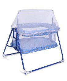 Mothertouch Combi Cradle Multi Print- Blue & White