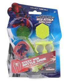 Majorette Spider Man Web Attack Battle Game - Green