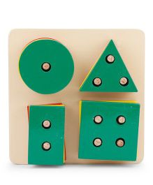 Alpaks Shape Sorter - Green
