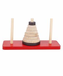 Alpaks Tower Of Hanoi - Brown