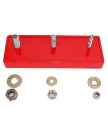 Alpaks Bolting Wooden Board - Red