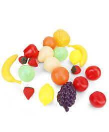 Alpaks Plastic Play Fruits Pack Of 20 - Multicolor