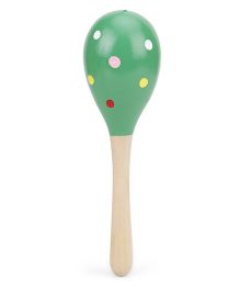 Alpaks Egg Shape Musical Rattle (Color And Design May Vary)