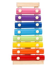 Alpaks Wooden Xylophone Small - Multi Color