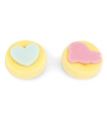 Alpaks Sponge Stamp Pack Of 2 - Yellow