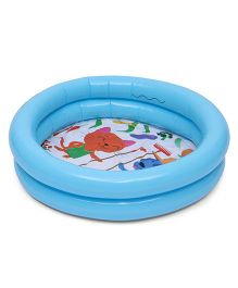 Bestway Round Shaped 2 Rings Kiddie Pool - Blue