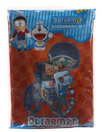 Doraemon Sticker Bazaar Stationery Gifts Set Combo - Blue Red